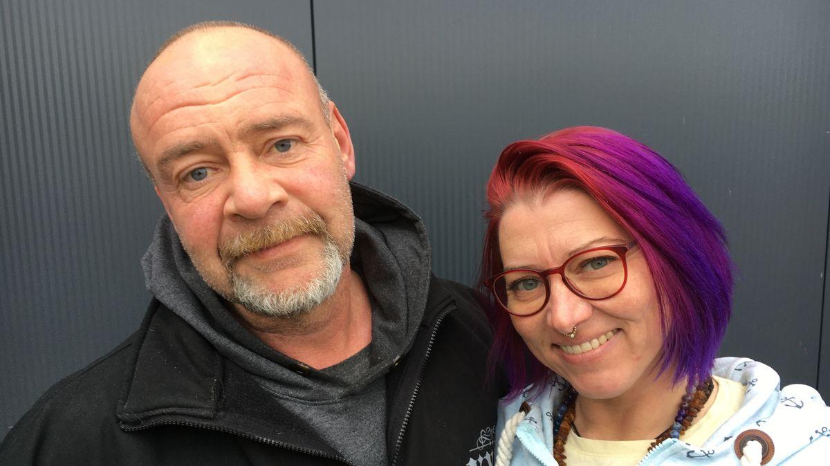 Jürgen und Janina Weinhold