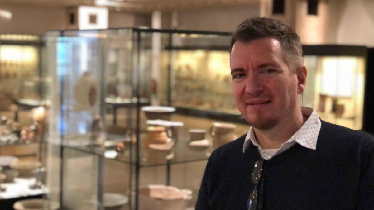 Der Historiker Stefan Ihrig wirbt für den Erhalt des Museums an einem neuen Standort.