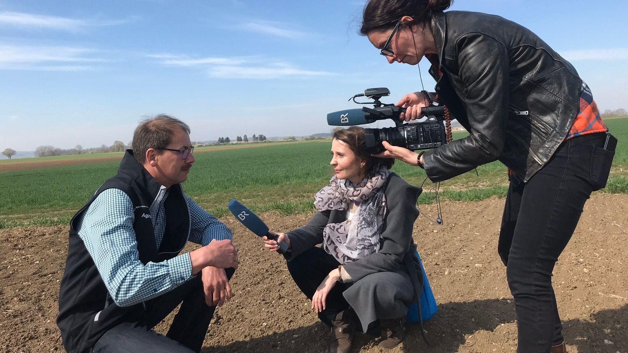 Landwirt Karlheinz Götz
