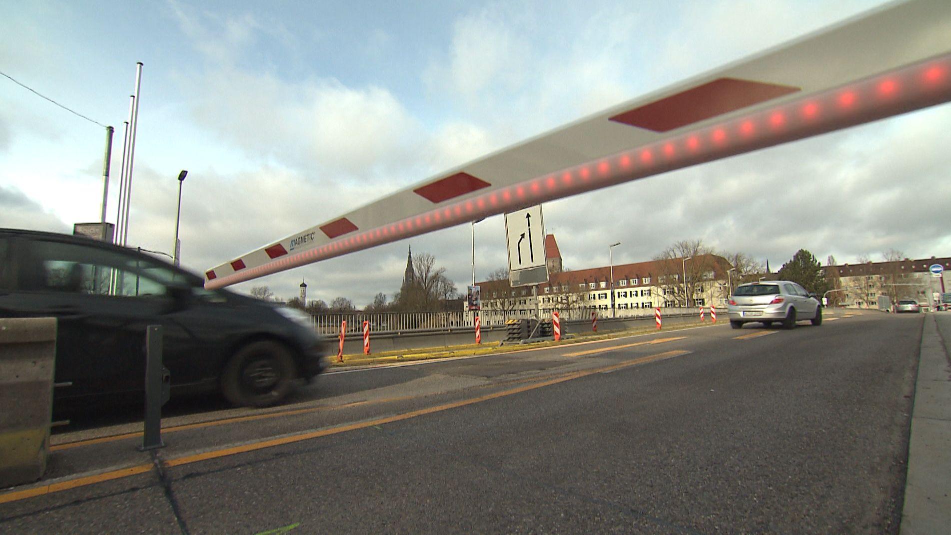 Gänstorbrücke zwischen Ulm und Neu-Ulm