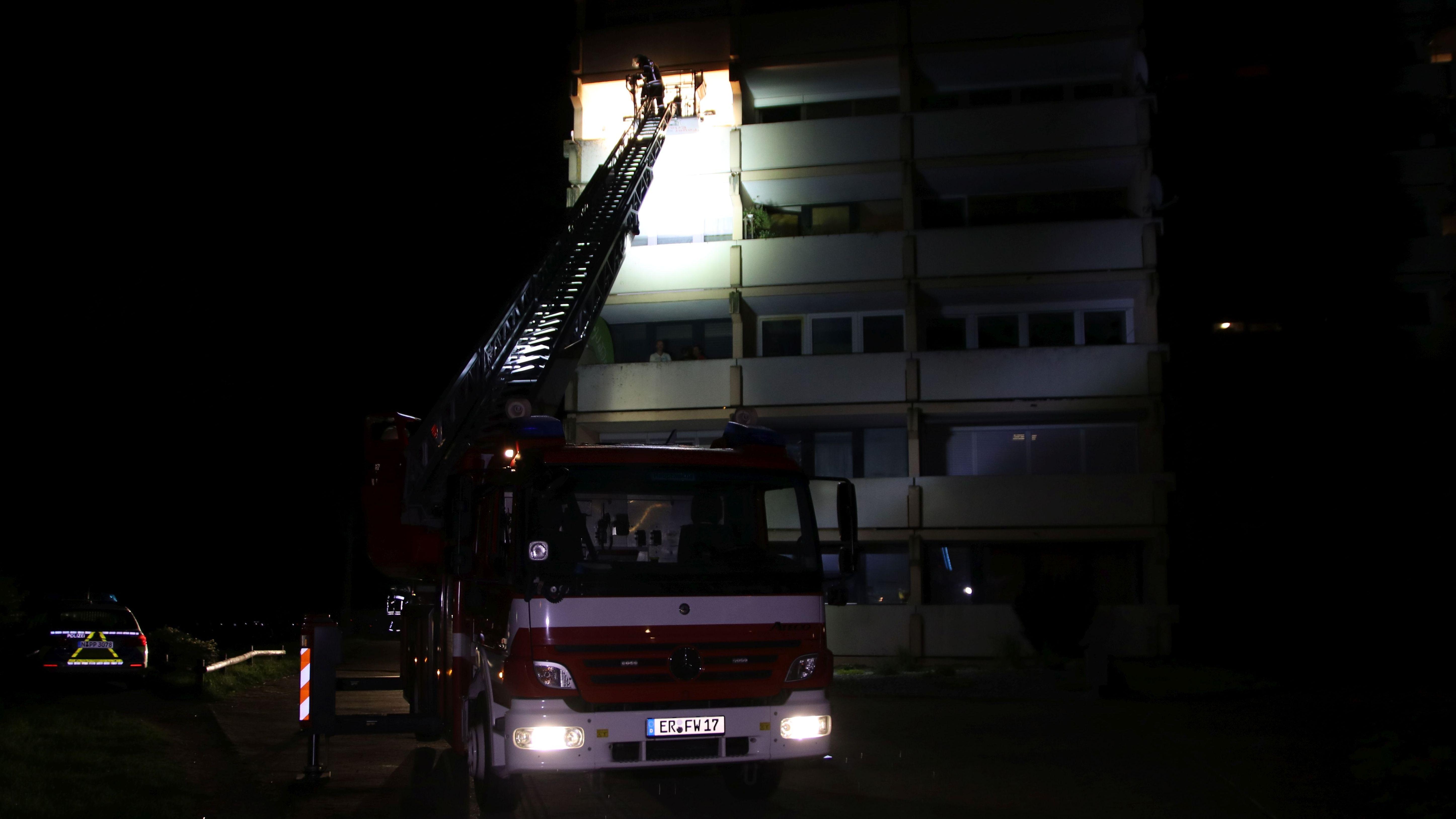 SEK-Einsatz in Erlangen