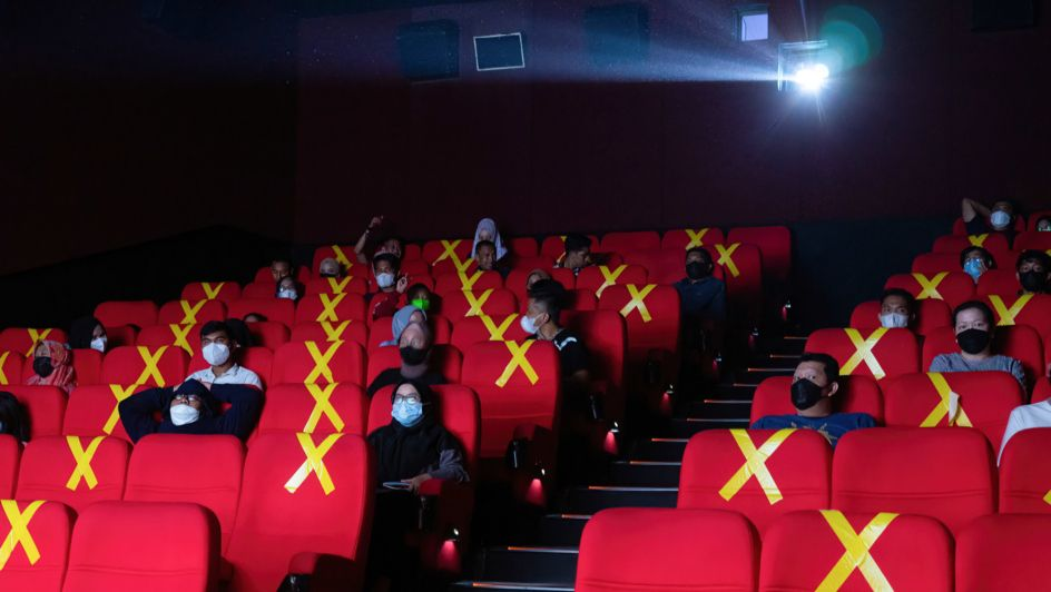 Kino unter Corona-Maßnahmen