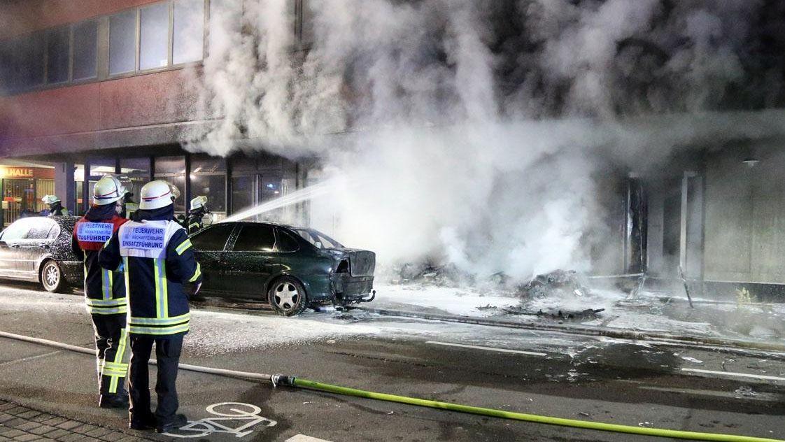 Brand in Aschaffenburg