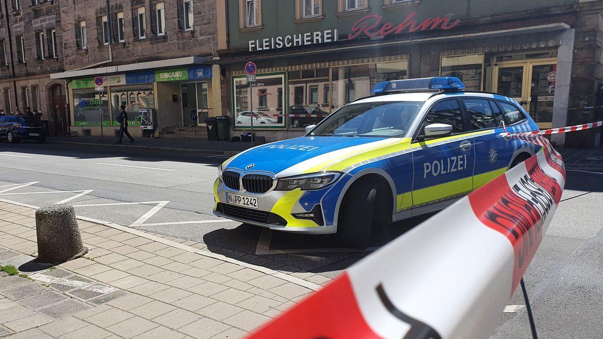 Messerangriff auf offener Straße in Fürth