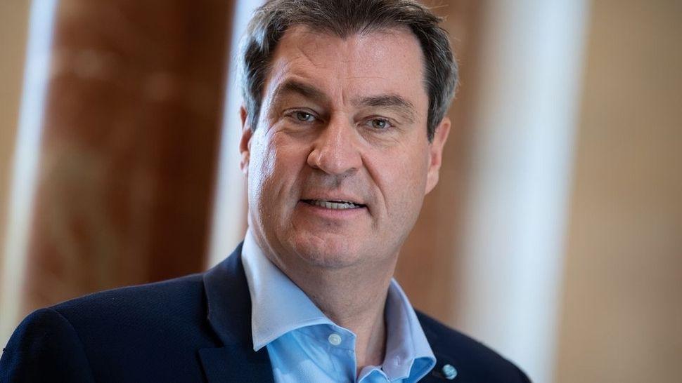 Portrait Foto von Markus Söder