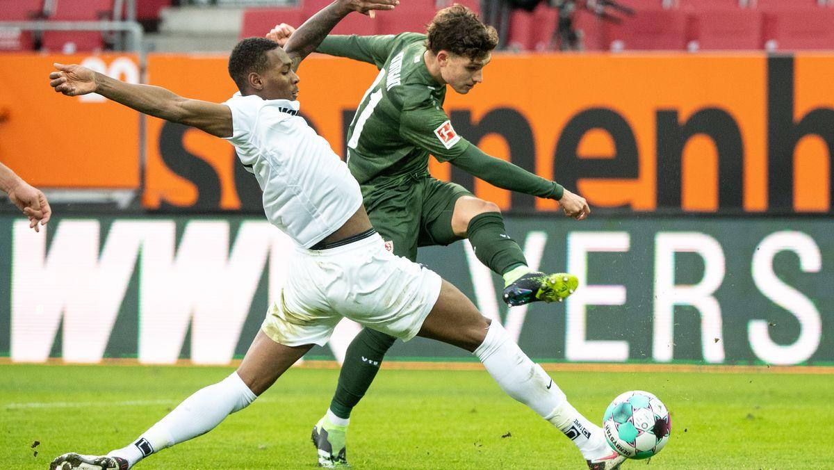 FC Augsburg gegen VfB Stuttgart