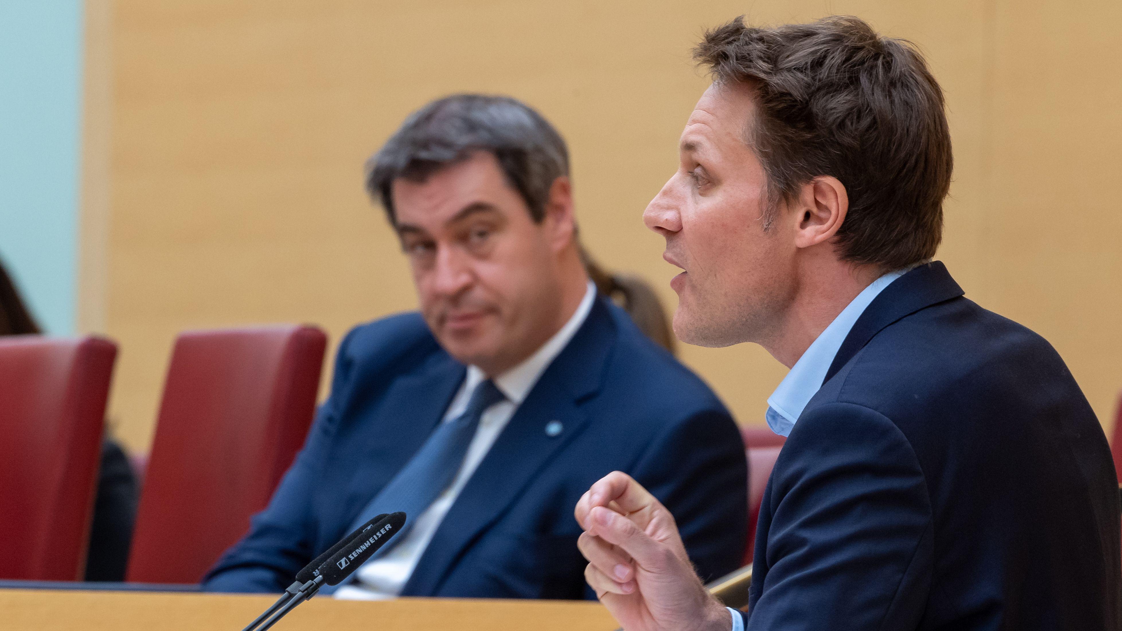 Er setzt auf konstruktive Zusammenarbeit in der Krisenzeit: Der Fraktionsvorsitzende im bayerischen Landtag, Ludwig Hartmann.