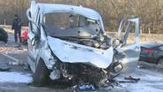 Flughafentangente nach schwerem Unfall komplett gesperrt   Bild:BR / Winklmeier