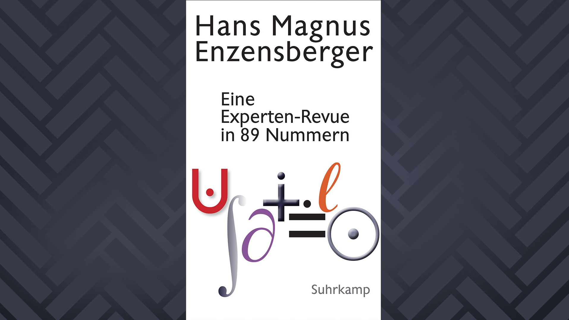 """Cover von """"Eine Experten-Revue in 89 Nummern"""" von Hans Magnus Enzensberger"""