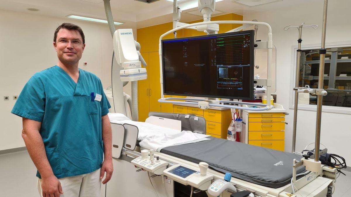 Dr. Marcus Pirot, Chefarzt der Kardiologie in Neuendettelsau