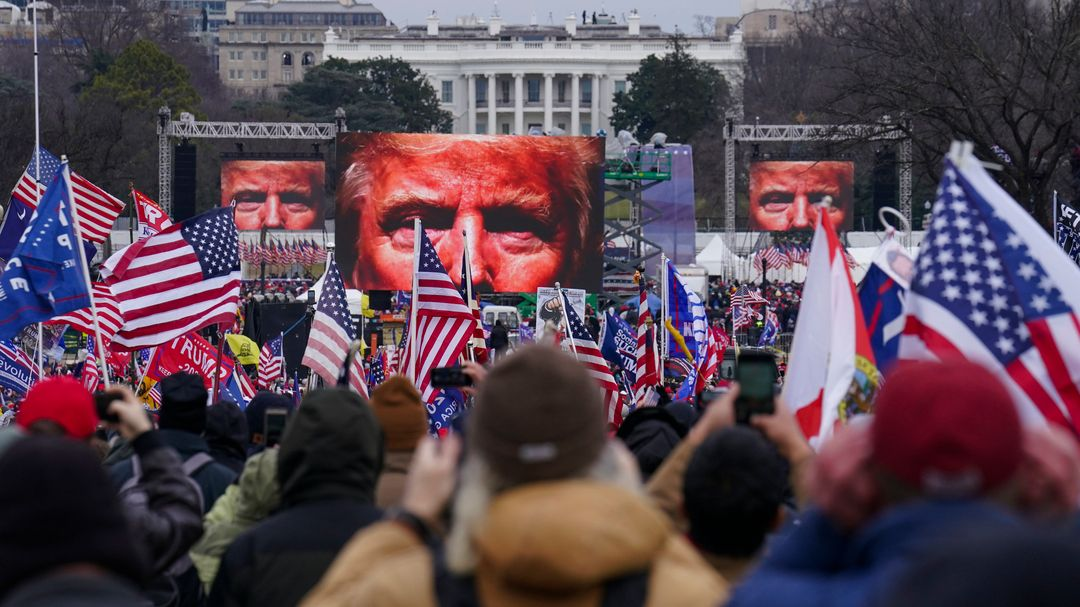 Trump-Rally in Washington am 6. Januar