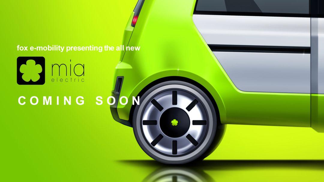 fox e-Mobility AG stellt Design der MIA-Produktfamilie vor