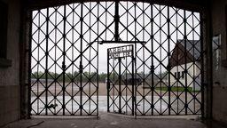 Gedenkstätte des Konzentrationslagers Dachau | Bild:dpa-Bildfunk / Sven Hoppe