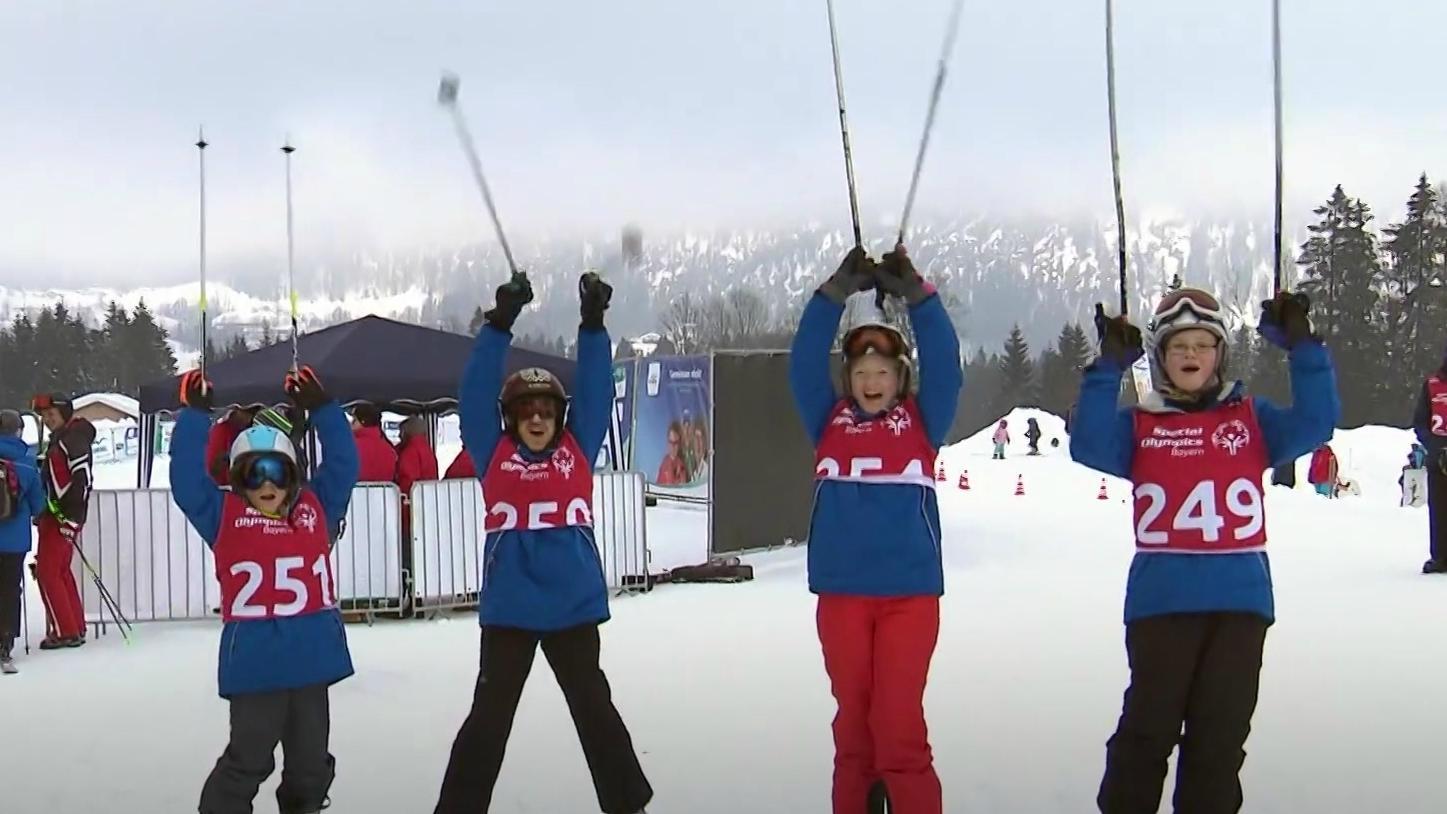 Teilnehmer Special Olympics