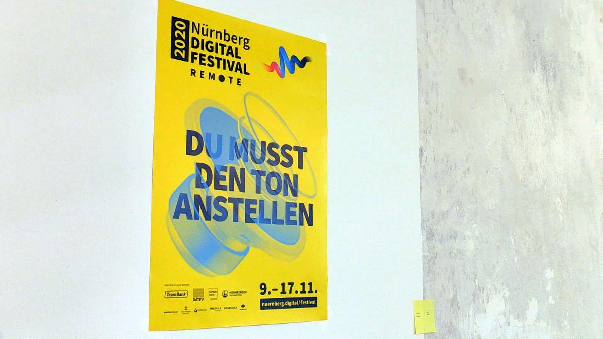 Plakat des Nürnberg Digital Festivals