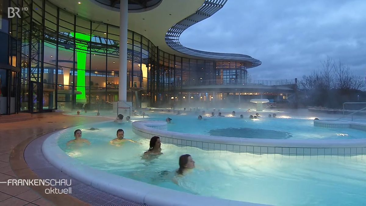 "Die ""Kissalis""-Therme in Bad Kissingen"