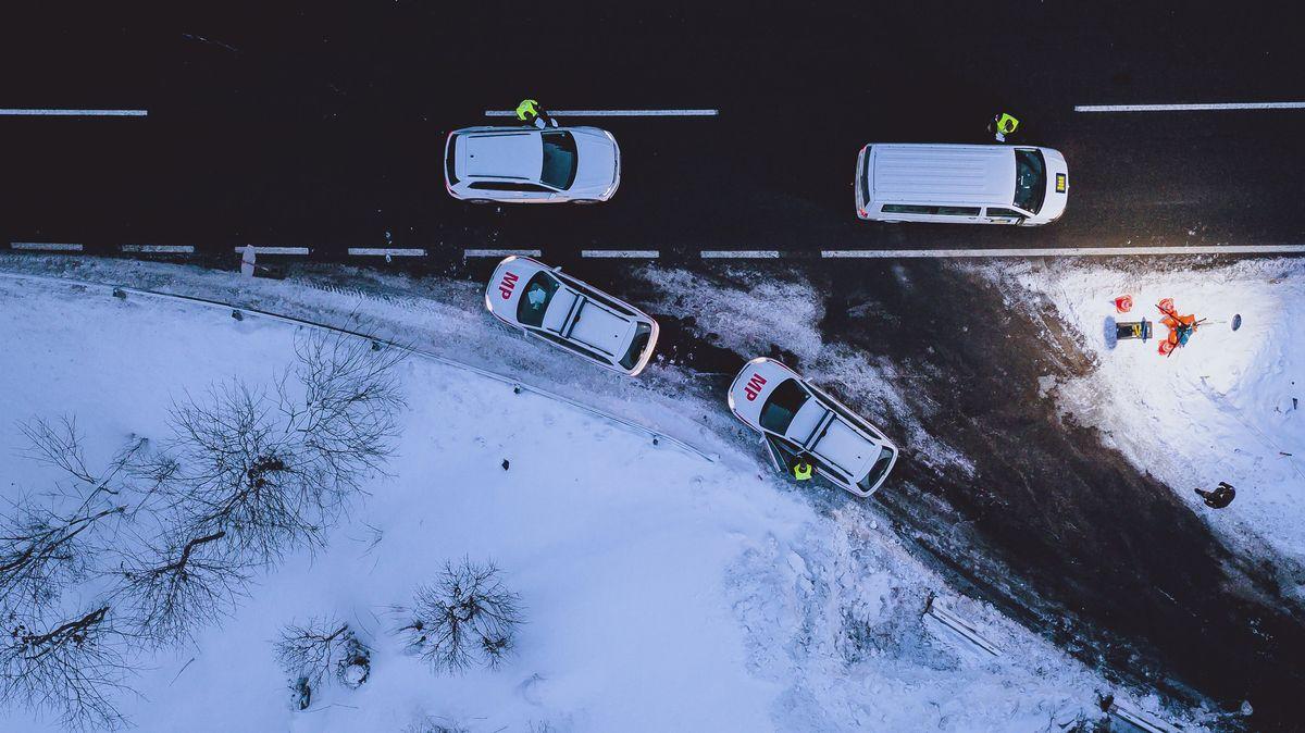 Kontrollen an der Grenze zu Österreich.