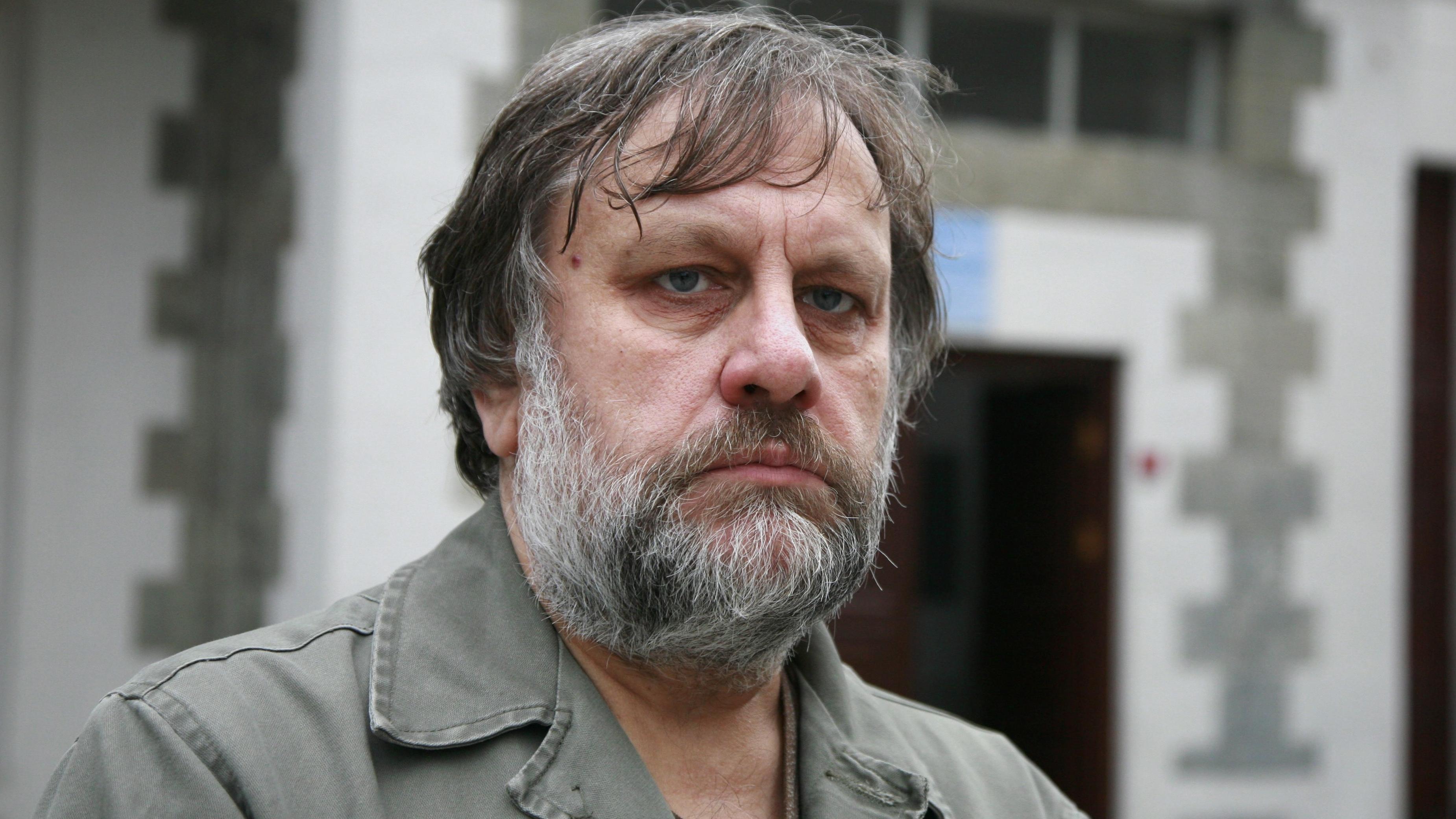 Porträt von Slavoj Žižek