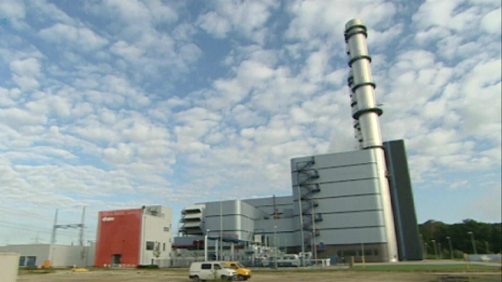 Gaskraftwerk im bayerischen Irsching