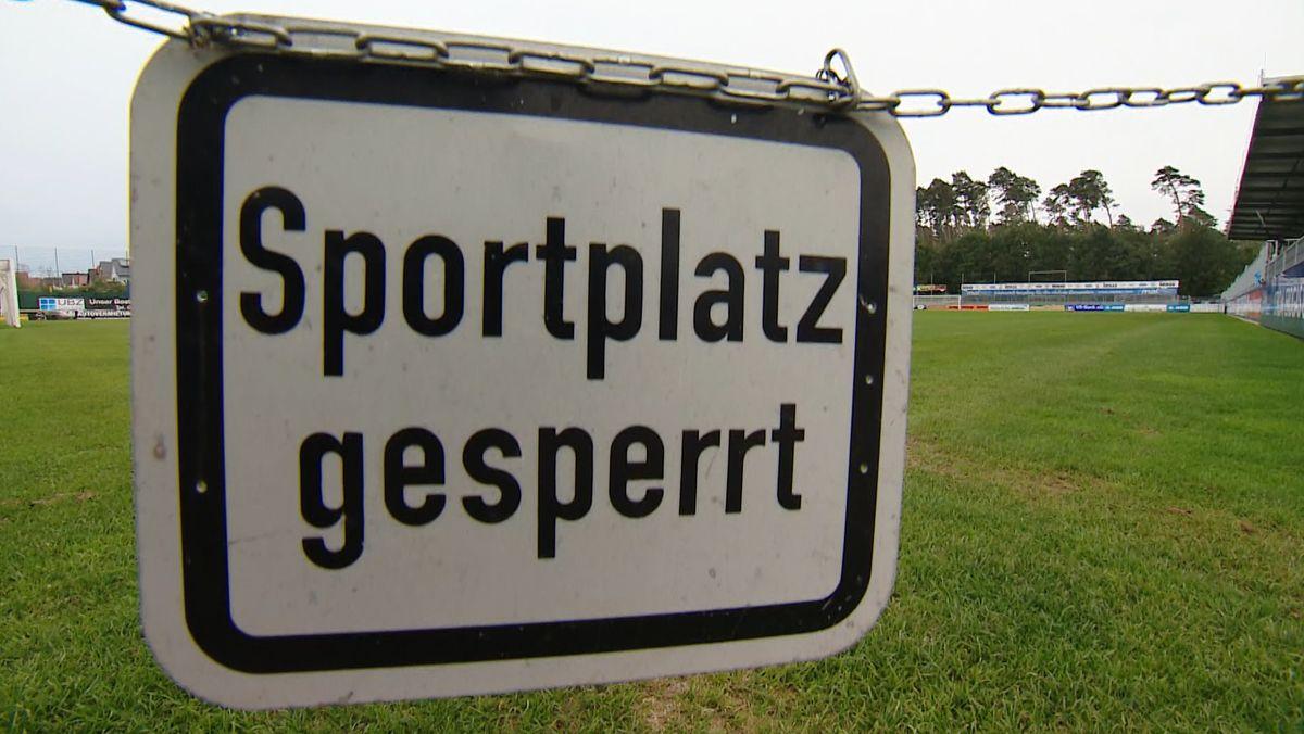 Fußballfeld des FC Bayern Alzenau