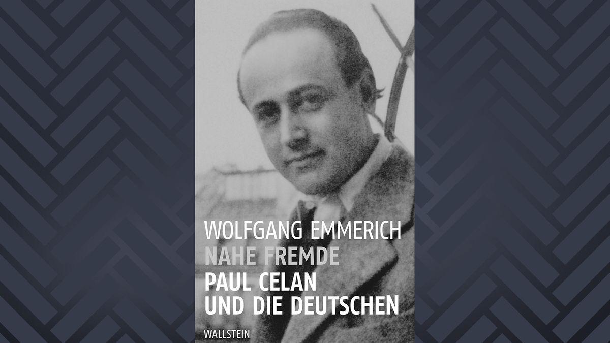 """Buchcover zu Wolfgang Emmerich: """"Nahe Fremde. Paul Celan und die Deutschen"""", erschienen bei Wallstein"""