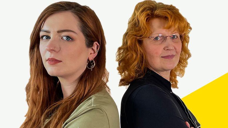 Silvi Carlsson und Susanne Georgi | Bild:BR