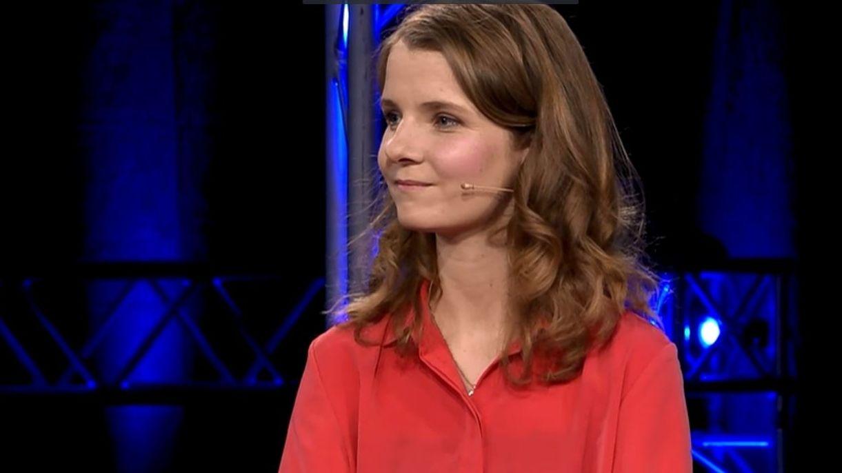 Kathrin Flach Gomez, bayerische EU-Spitzenkandidatin der Linken
