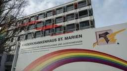 Das Kinderkrankenhaus St. Marien in Landshut | Bild:pa/dpa/Armin Weigel