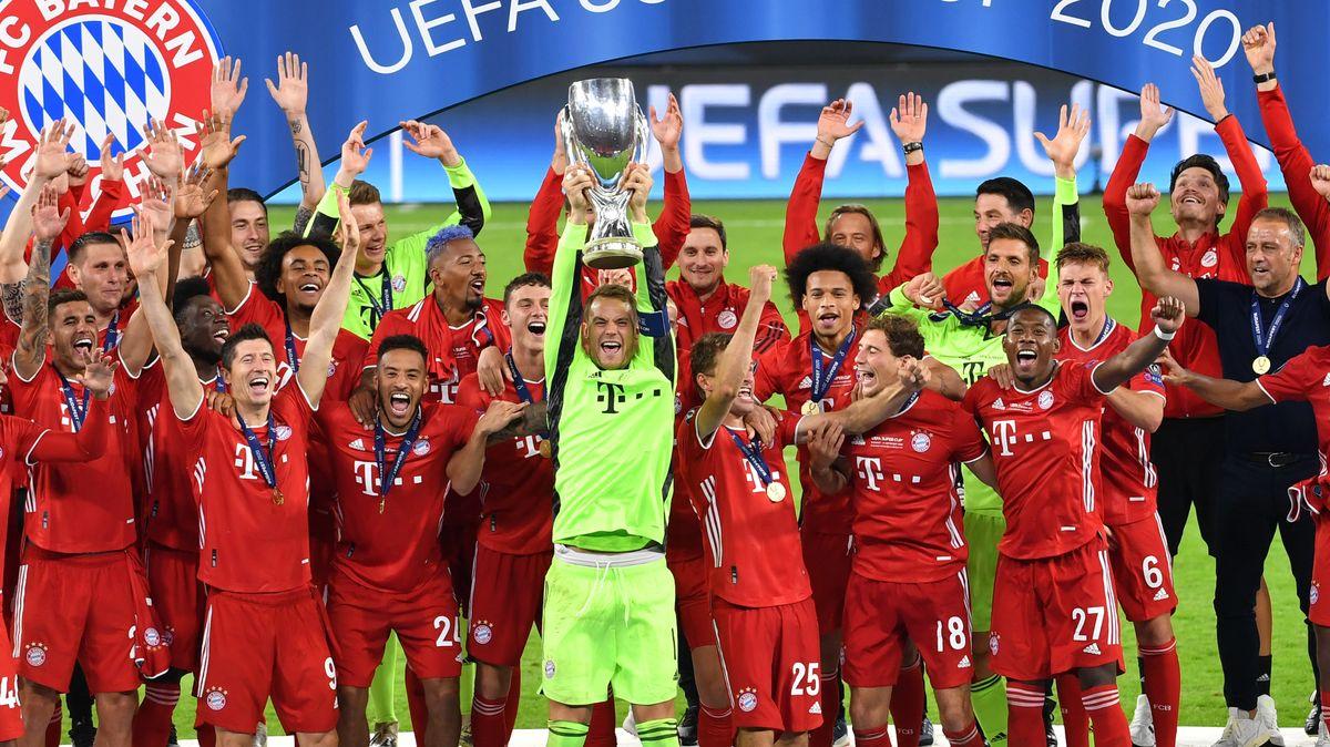 Geschafft: Der FC Bayern ist auch europäischer Supercupgewinner