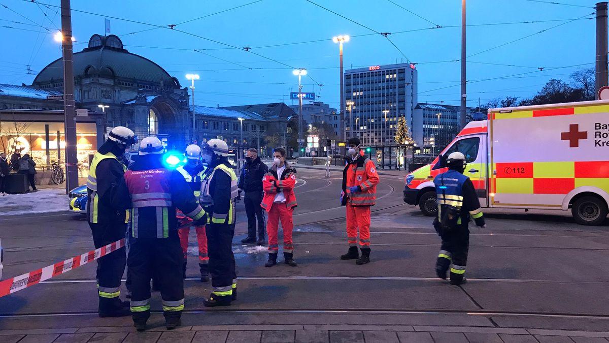 Polizei-Großeinsatz in Nürnberger Innenstadt