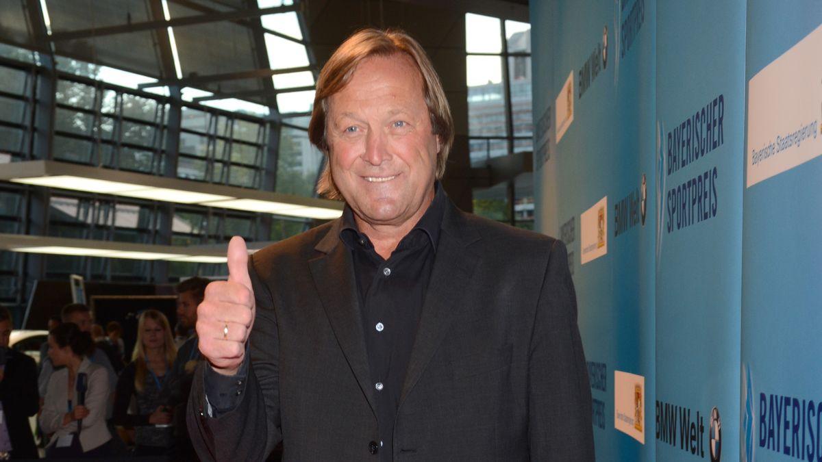 Erich Kühnhackl beim Bayerischen Sportpreis