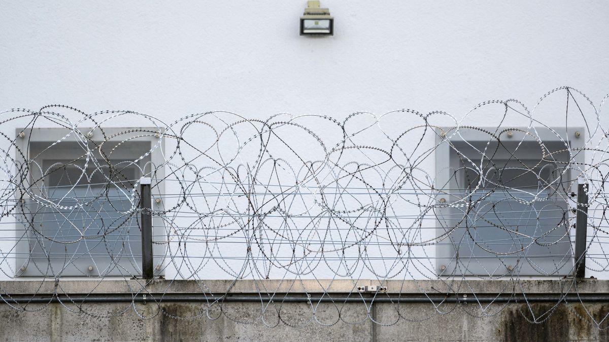 In diesem Gefängnis war Clan-Chef Miri bis zu seiner Abschiebung inhaftiert.