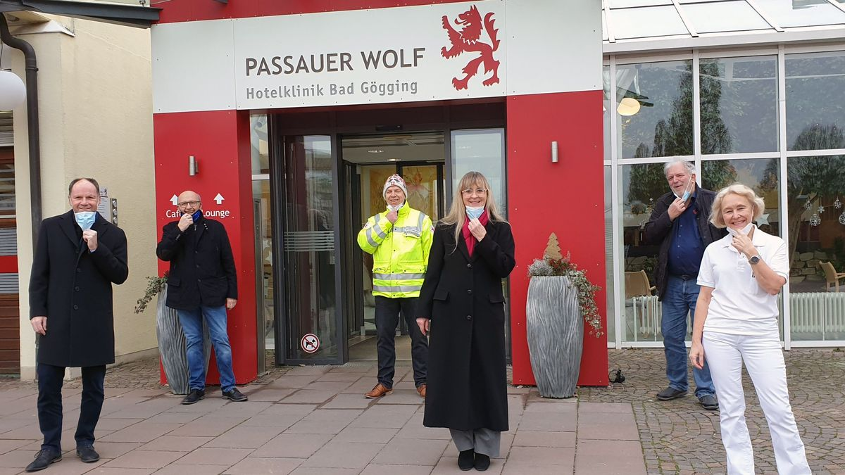 Die Quarantäne-Klinik Passauer Wolf in Bad Gögging