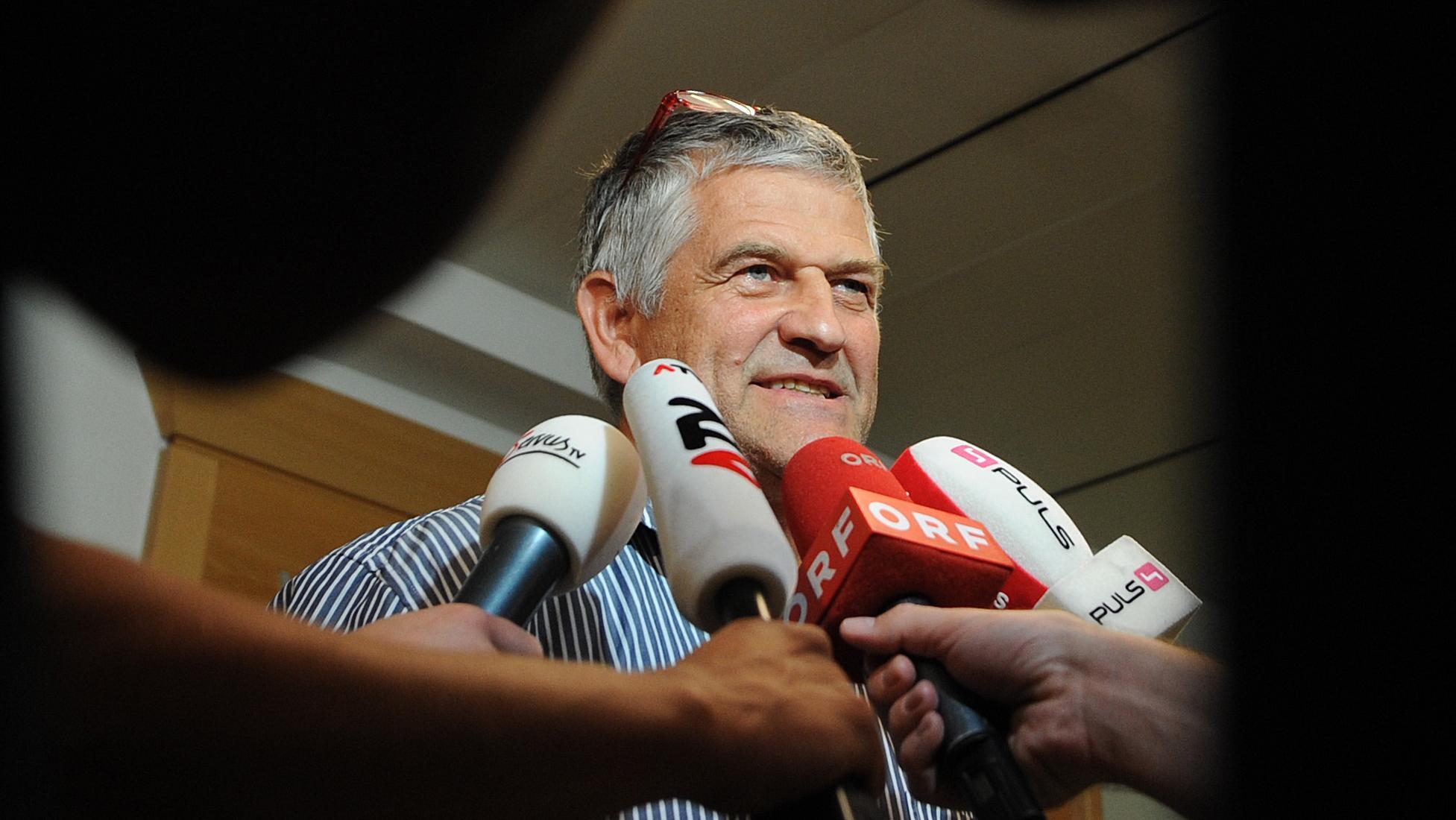 Vorübergehend festgenommen: Österreichs Ex-Langlauf-Coach Walter Mayer.