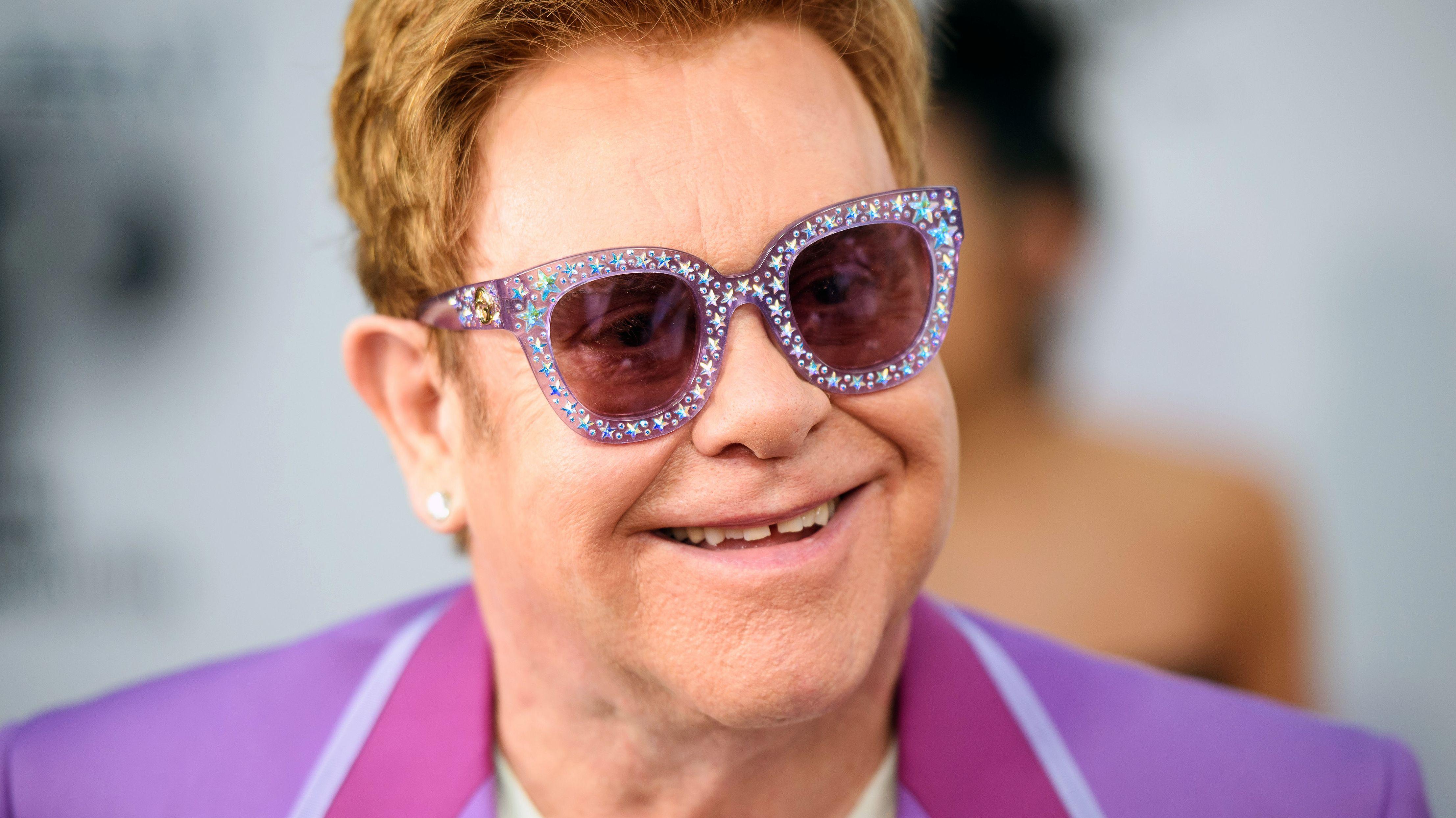 Archivbild: Elton John tief erschüttert über Kritik an Harry und Meghanpicture