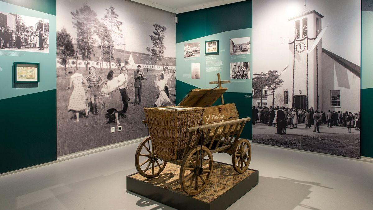 Ausstellung erinnert an das Lager Föhrenwald