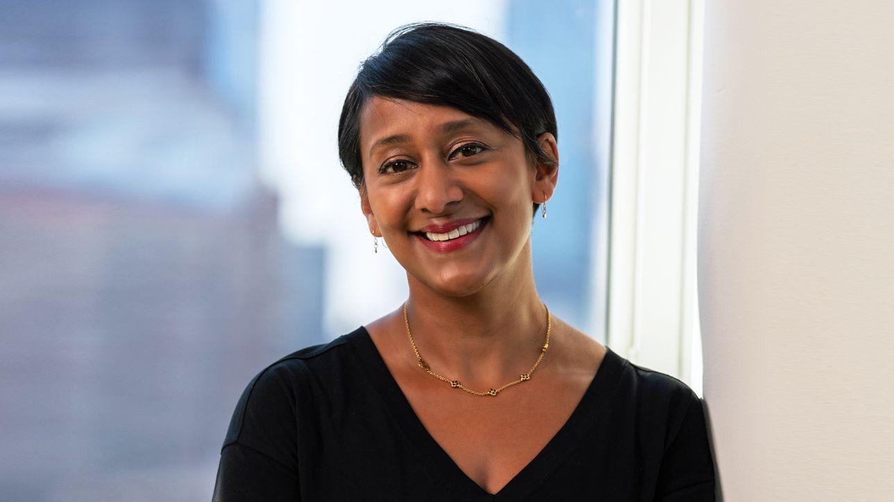 Amanda Rajkumar im Porträt