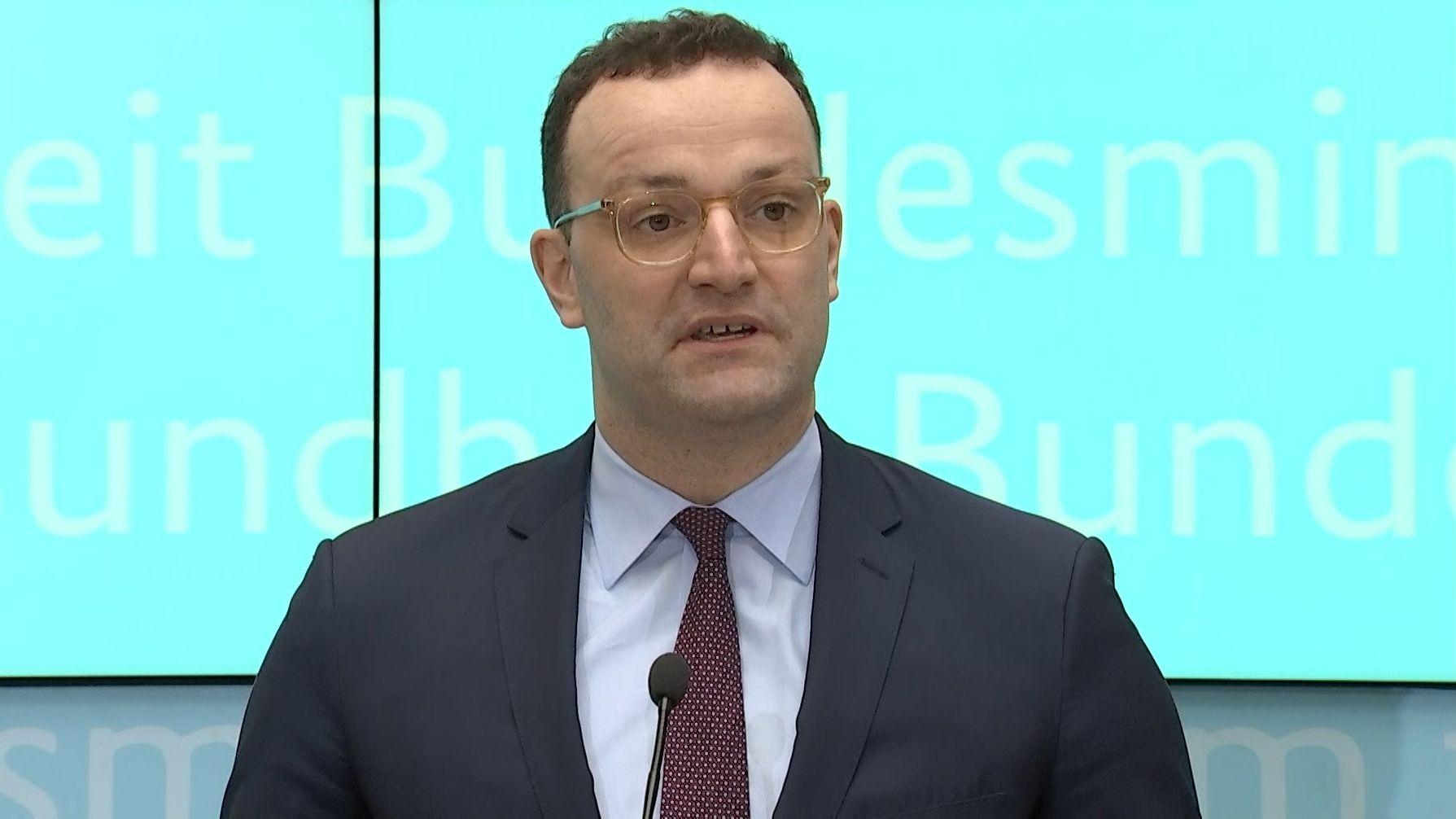 Portrait von Jens Spahn (CDU), Bundesgesundheitsminister