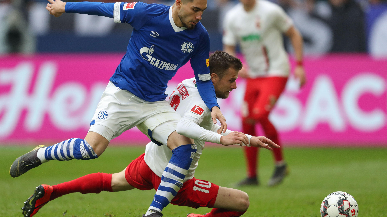 Spielszene Schalke - Augsburg