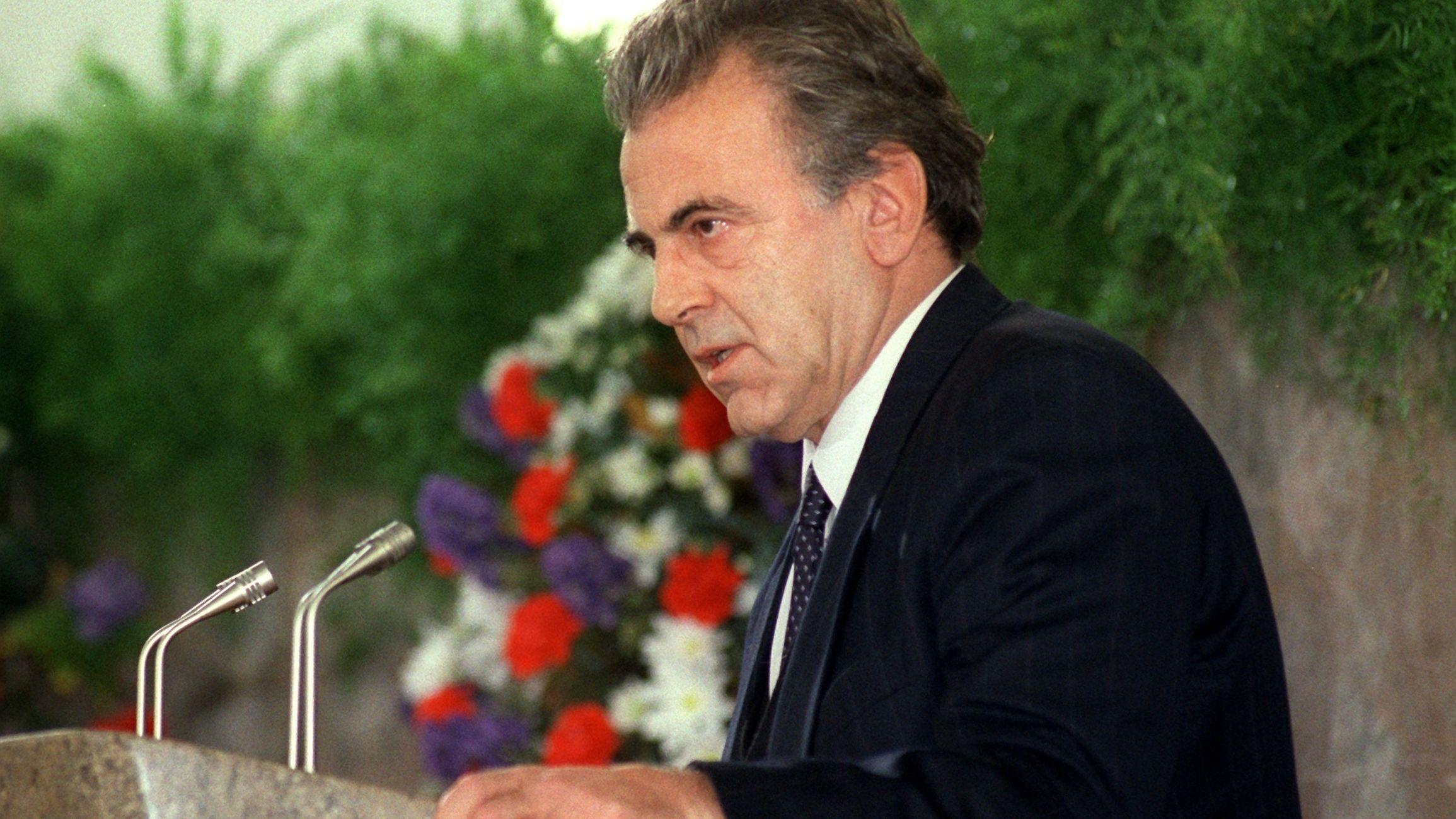 Maximilian Schell als Sprachrohr von Václav Havel