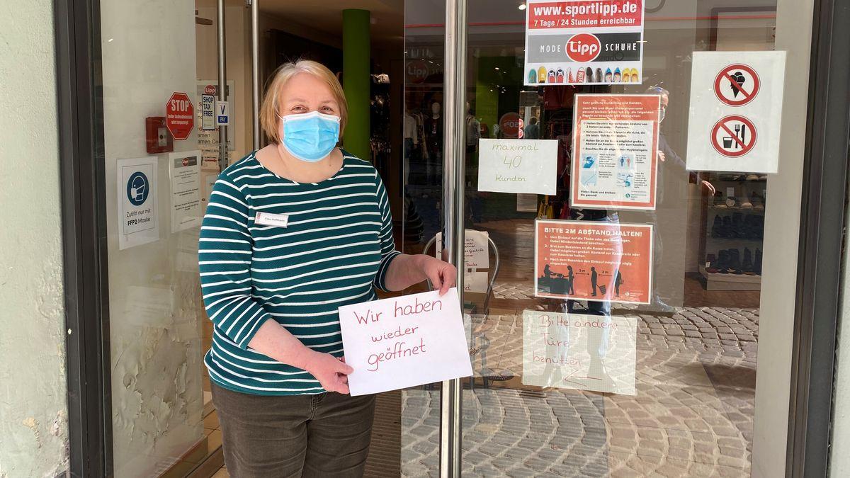"""Marianne Hoffmann, Filialleiterin """"Lipp"""" Landshut"""