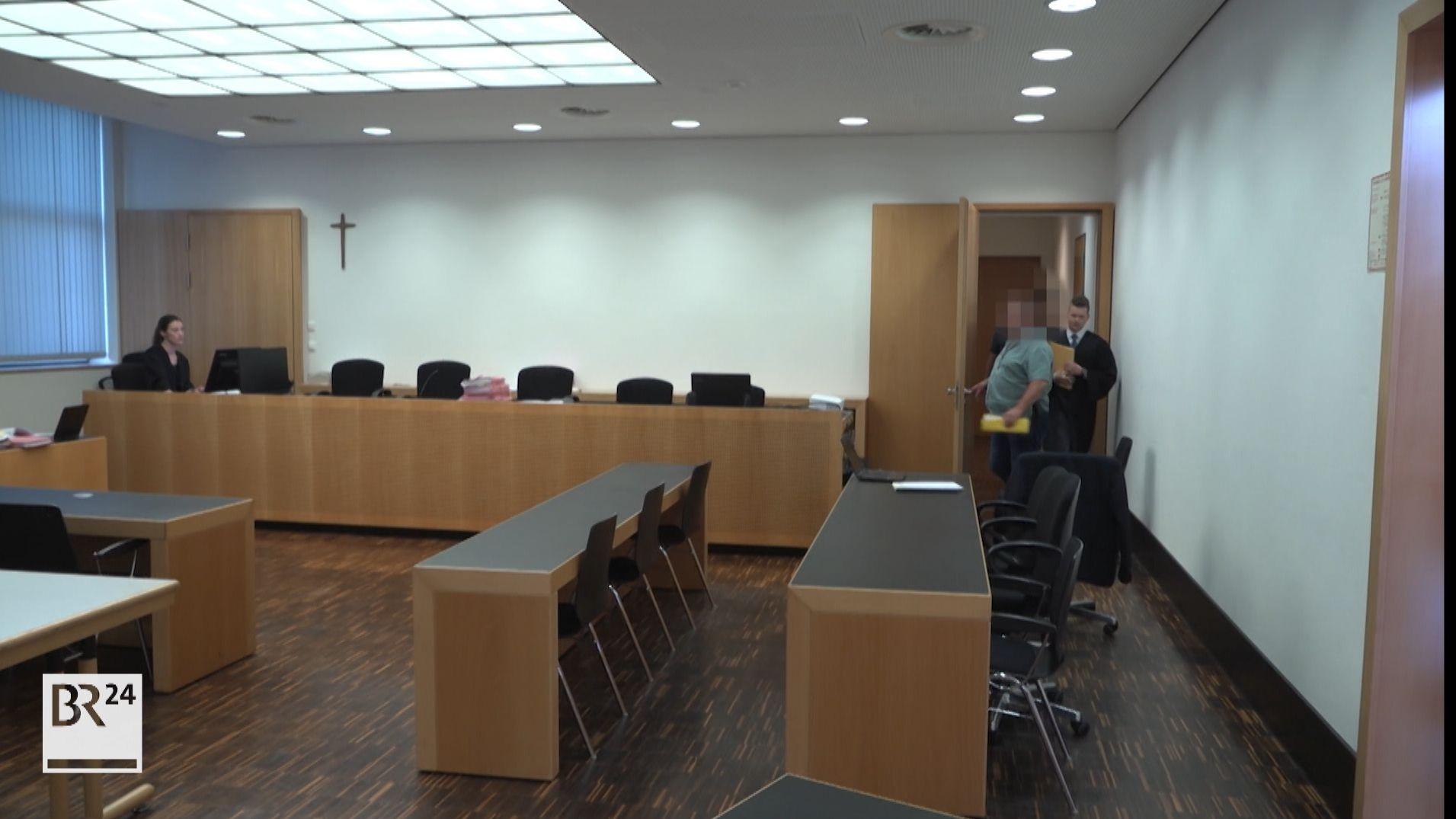 Der Gerichtssaal