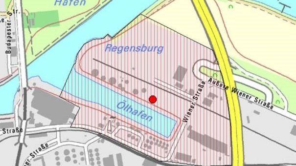 Innerhalb Der Sicherheitszone befinden sich der Polizei zufolge keine Wohnhäuser, sondern ausschließlich Gewerbeflächen.