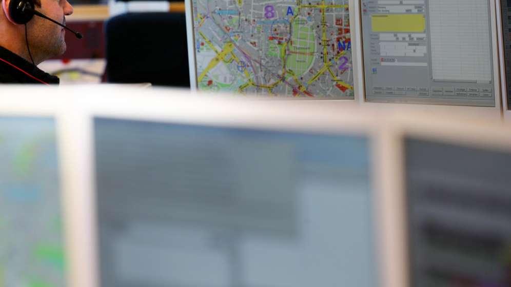 Symbolbild: Integrierte Leitstelle München | Bild:picture alliance / dpa