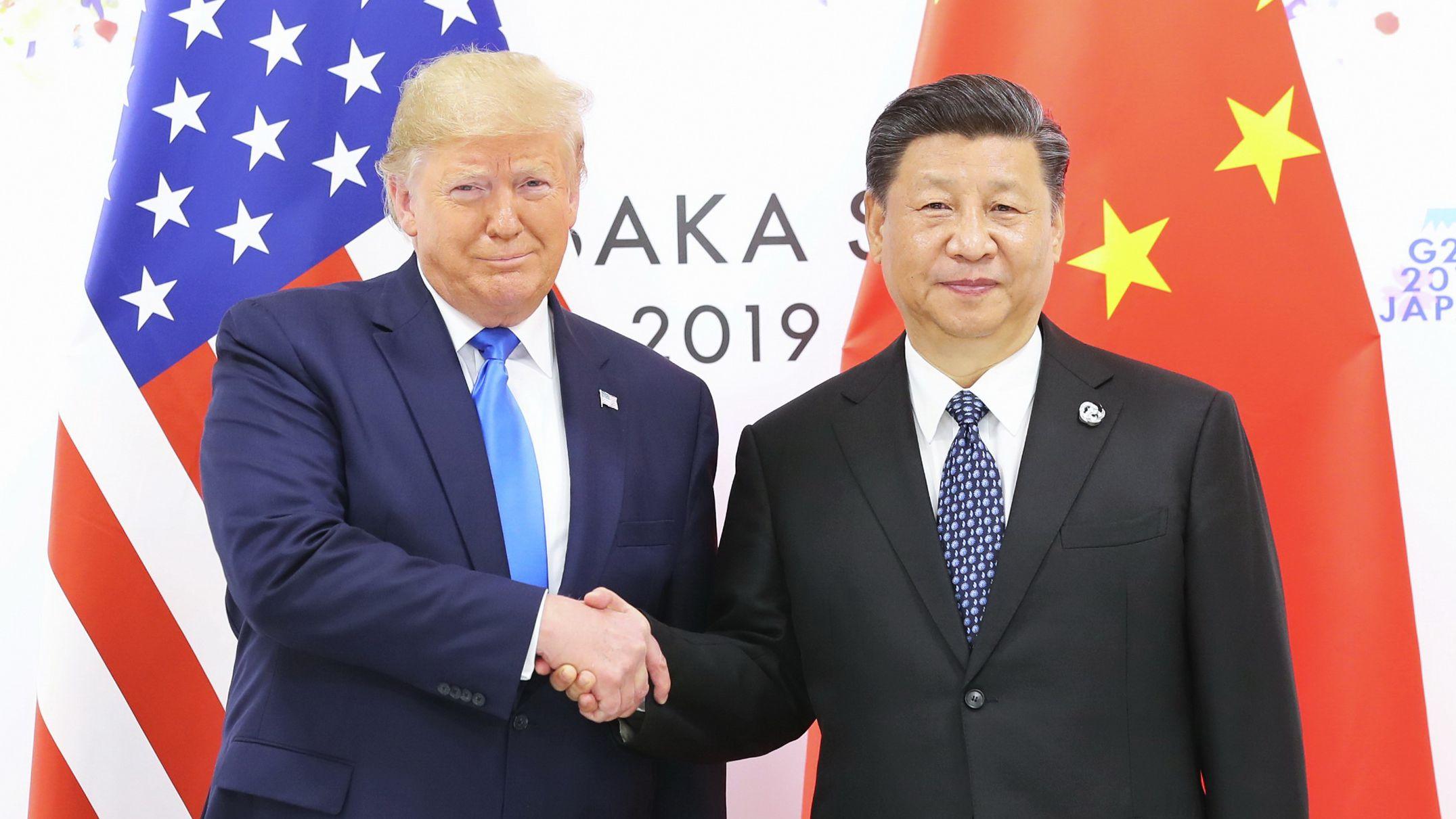 Donald Trump und Xi Yinping in Osaka