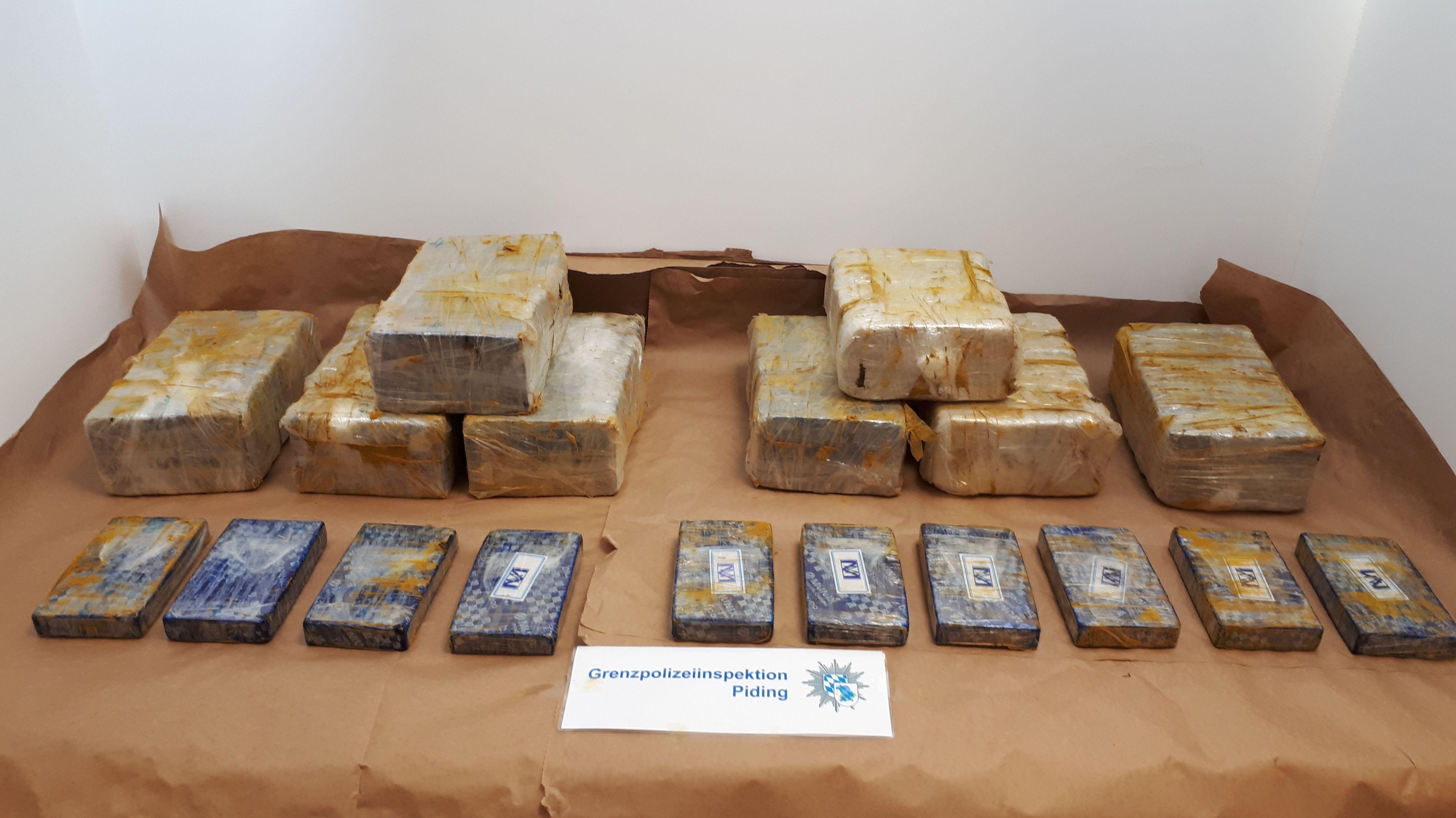 Heroin-Fund der Polizei