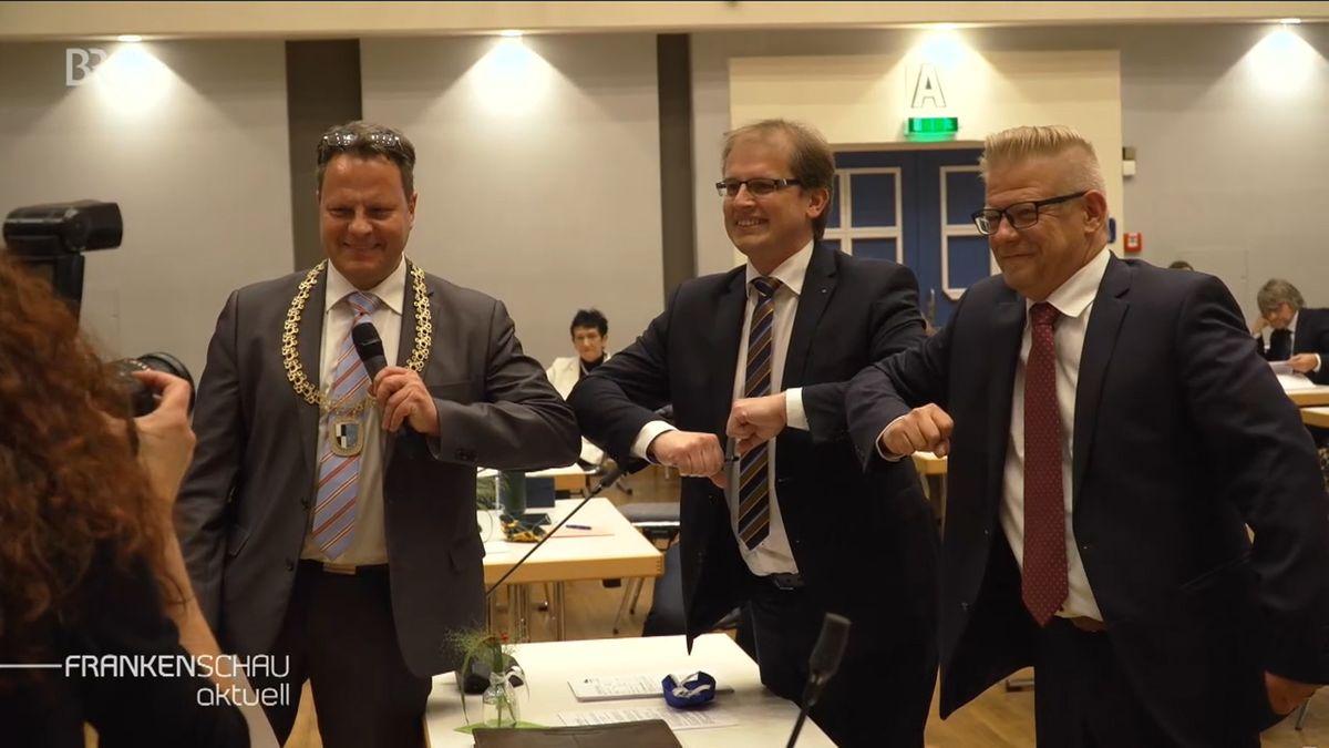 Kulmbachs neuer Oberbürgermeister Ingo Lehmann ist vereidigt.
