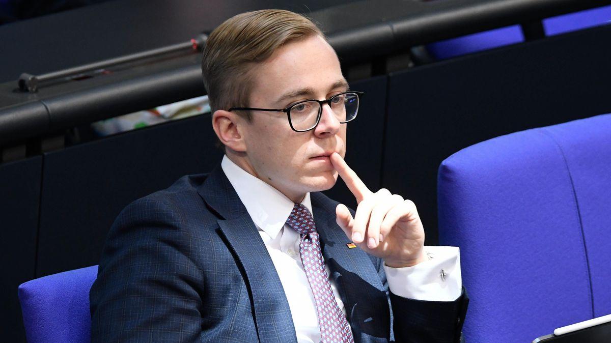 Philipp Amthor im Bundestag