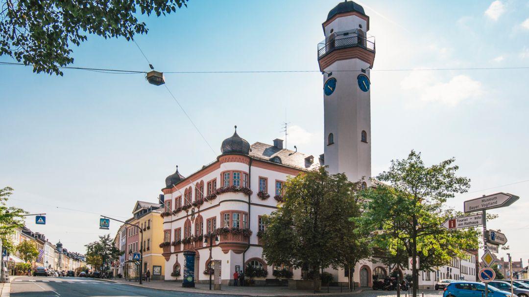 Das Rathaus der Stadt Hof
