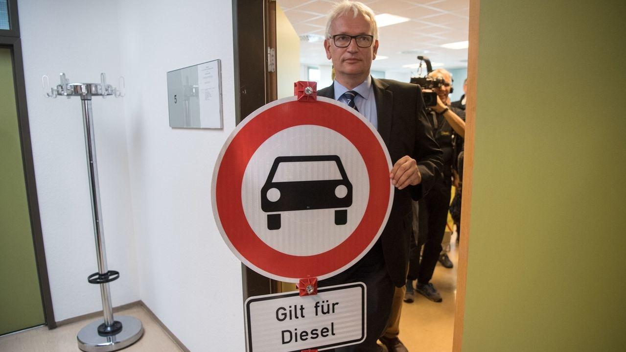Jürgen Resch, Bundesgeschäftsführer der Deutschen Umwelthilfe.